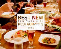 NYC's 11 best new restaurants of 2014