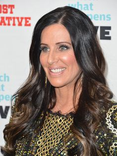 Patti Stanger love her hair with blondie brown ends