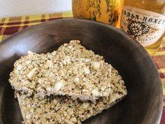 *Healthy Crunchy Peanut Butter Granola Bars*