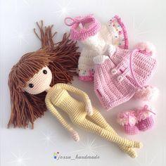 "424 Likes, 4 Comments - @jossa_handmade on Instagram: ""Icelyn❄️❄️❄️ #crochet #crochetdoll #crochetlove #crochetaddict #crochetersofinstagram #amigurumi…"""