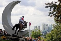 London Olympics Equestrian Eventing