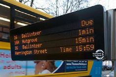 Data Display is a leading manufacturer of standard and customized bus stop signs which provide the travellers accurate and up-to-the-minute information.