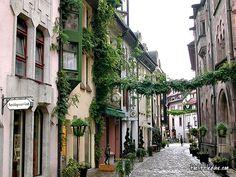 Wofür in die Toskana...es ist auch in Freiburg, Deutschland schön und warm ists auch...