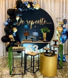 25th Birthday, Birthday Parties, Diy Birthday Decorations, Ideas Para Fiestas, House Party, Holidays And Events, Dessert Table, Party Themes, Backdrops