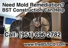 Need Mold Remediation? BST Construction Can Help Call: (951) 696-2782 www.thebstco.com #damagerestorationservices #flooddamage #waterdamage #remediation #damageremediation #moldremediation #moldremoval #moldremovalservices #restorationcleanup #waterdamagerestoration #california #contractor #southerncalifornia