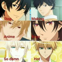 anime hot boys ❤❤❤