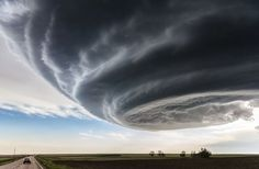 «The Independence day». Un ouragan près de Julesburg, dans le Colorado, le 28 mai 2013. (1er prix).