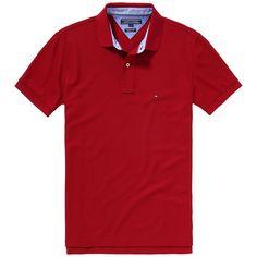 Das klassische Performance Poloshirt von Tommy Hilfiger mit Logostitching auf der Brust. Hochwertige Materialqualität mit normaler Passform100% Baumwolle...