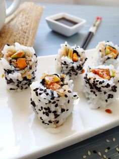 Romance MAKI... Can't wait to try. We just started our adventures in sushi making at home :)