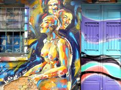 Graffiti on home wall at street Belmiro Braga, 16 - Sao Paulo - Brazil