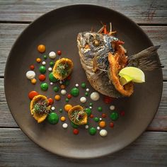 The Fried Fish. Remembering the scent of our beaches and beatiful coastlines printed in our taste memory forever. By @enriquelimardo Tag your best plating pictures with #armyofchefs to get featured. #fried #fish #fisch #plating #seafood #sea #plating #chefs