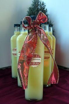 Homemade Creamy Lemoncello