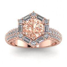 Piece Info: - 14K Rose Gold - Comfort Fit - Hypoallergenic, Cobalt-Free - Sleek Design - Durable - Comes in a Gift box #14k #Rose #Gold #Belen #Vintage #Morganite #And #Diamond #Baguette #Halo #Baguette #Accent #Triple #Row #Pave #Unique #Halo #14k #morganite #ring #18k #morganite #ring #rose #gold #engagement #wedding #ring #engagement #ring #rose #gold #morganite #morganite #ring #morganite #engagement #double #halo #setting #hand #engraving #baguette #accent #triple #row #pave #unique… Morganite Ring, Morganite Engagement, Ring Engagement, Meteorite Ring, Flamboyant, Baguette Diamond, 18k Rose Gold, Wedding Ring Bands, Diamond Shapes