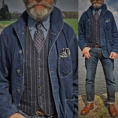 I don't look good in denim jackets, but I love this.