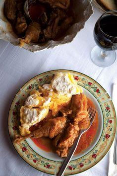 Csirkepaprikás (Chicken with Paprika)
