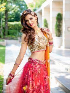 Gorgeous: Bride's Lehenga by Anushree Reddy https://www.facebook.com/thesplurge Image by Adiz Photography http://adizphotography.com.au/ Aust