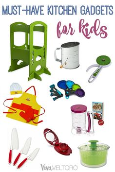 Get your mini chef in the kitchen with these fun kitchen gadgets for kids!