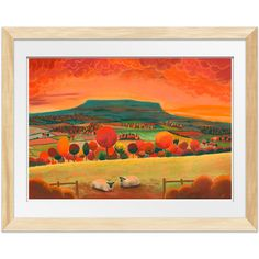 Sunset On Pen Hill – Lucy Pittaway