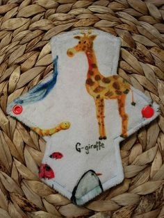 Check out this item in my Etsy shop https://www.etsy.com/uk/listing/577652050/minky-cloth-pad-7-reusable-menstrual-pad