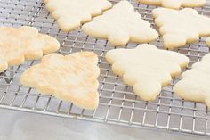 Make the perfect cut out sugar cookies every time without chilling the dough! Our recipe makes a soft cookie that's sturdy enough for icing! Sugar Cookie Recipe No Chill, Christmas Sugar Cookie Recipe, Sugar Cookies Recipe, Christmas Cookies, Cookie Desserts, Cookie Recipes, Dessert Recipes, Icing Recipes, Sweet Recipes