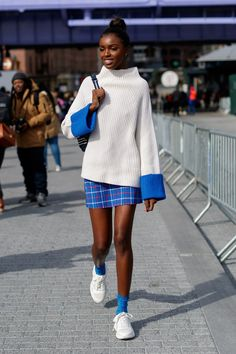 The Best Street Style From New York Fashion Week 2019 - Mode Deutsch New York Street Style, Modern Street Style, Best Street Style, Looks Street Style, Cool Street Fashion, Looks Style, Street Chic, New York Style, Street Styles