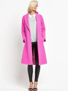 Love Label Swing Coat