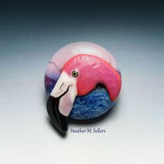 Flamingo Bead designed by Heather Sellers.