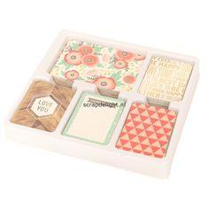 Becky Higgins | Project Life core kit: Cottage Living | Scrapdelight Scrapbookwinkel