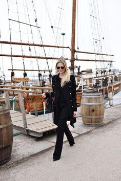 by Sofia Ruutu Zara Bags, Chanel Sunglasses, Ootd, Street Style, Icons, Chic, Fall, Winter, Beauty