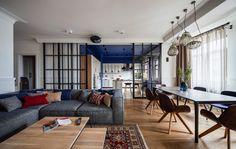 Une décoration classique et intemporelle pour ce bel appartement ukrainien