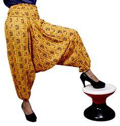 Aladdin Afghani Cotton Elephant Genie Harem Pants CAN Trousers Free Size Orange Pants Design Pants From India Harem Pants, Trousers, Amazing India, Cotton Pants, Orange, Yellow, Aladdin, Casual Pants, Fashion Brands
