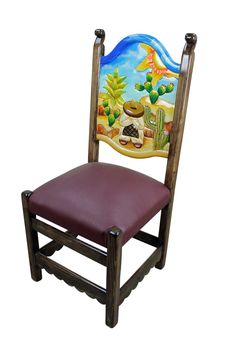 painted mexican furnitureHand painted Mexican furniture  DIY  Pinterest  Mexican