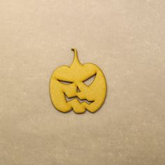 Helloween Pumpkin Type 5 Embellishment 3mm MDF by LaserVinylArts on Etsy