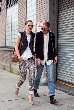 Model style! #FreshPrints #Leopard