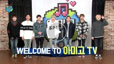 Monsta X on Amigo TV... even the staff couldn't stop laughing
