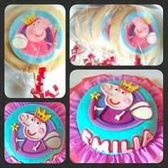 Cake Peppa Pig #pritycakes Peppa Pig, Cake, Creativity, Kuchen, Torte, Cookies, Cheeseburger Paradise Pie, Tart, Pastries