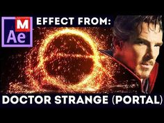 (8) After Effects Tutorial: Portal - Doctor Strange (Advanced) Trapcode Particular - YouTube