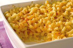 Try our homestyle Mary's Mac and Cheese Recipe, where Shredded Cheddar and VELVEETA team up to create a rich and creamy, surefire family pleaser.