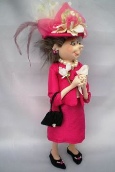 Cloth Doll Patterns by Jill Maas  I have this pattern haven't made it YET!!