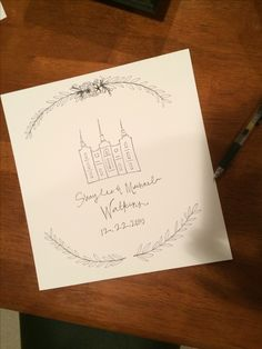 Wedding Gift -Doodles by Biz Warner vsco.co/ebizw