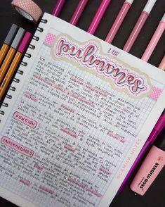 Bullet Journal Notes, Bullet Journal School, Bullet Journal Ideas Pages, Pretty Notes, Cute Notes, College Notes, School Notes, Neat Handwriting, Journal Fonts