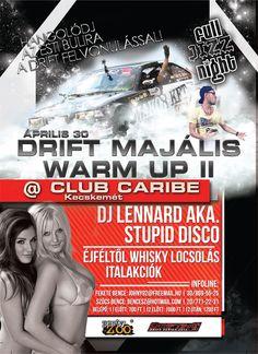 A flyer for a drift event...