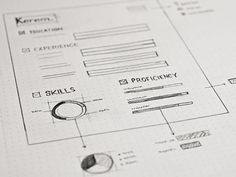 Inspiring UI Wireframe Sketches