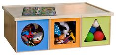 Big Play Table - modern - toy storage - by ViaBoxes