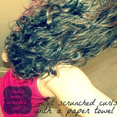 Souls Never Wrinkle: Paper Towel Curls