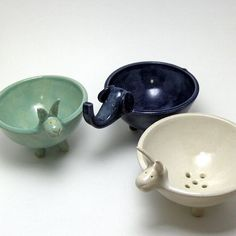 Inspiration for functional zoomorphic bowls