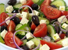 Recepten - Griekse salade