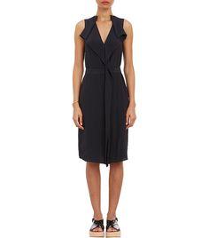 Marni Draped Ruffle Sleeveless Dress $970 via @WhoWhatWear