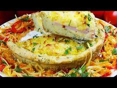Πιο νόστιμο από τηγανητές πατάτες, Δεν κουράζομαι ποτέ να μαγειρεύω πατάτες έτσι! - YouTube Quick Easy Dinner, Easy Dinner Recipes, Salmon Burgers, Frittata, Breakfast, Fresh, Ethnic Recipes, Youtube, Food