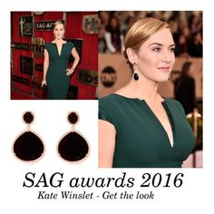 """Screen actors guild awards SAG 2016 Kate winslet - get the look"" by latelita ❤ liked on Polyvore featuring women's clothing, women, female, woman, misses and juniors"
